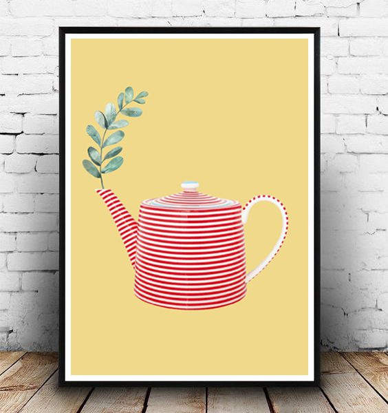 STUDIO ALBERT| RED TEAPOT