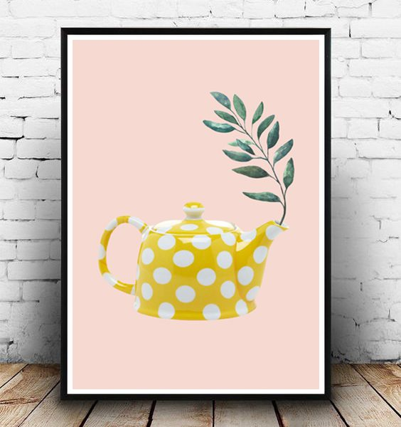 STUDIO ALBERT| YELLOW TEAPOT