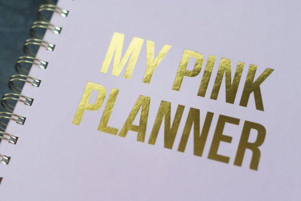 MY PINK PLANNER