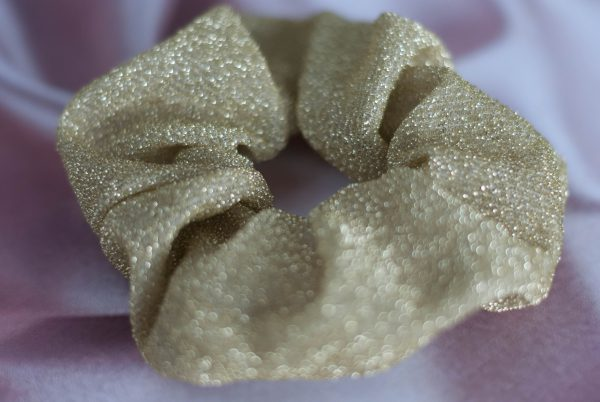 SCRUNCHIE-GOLD