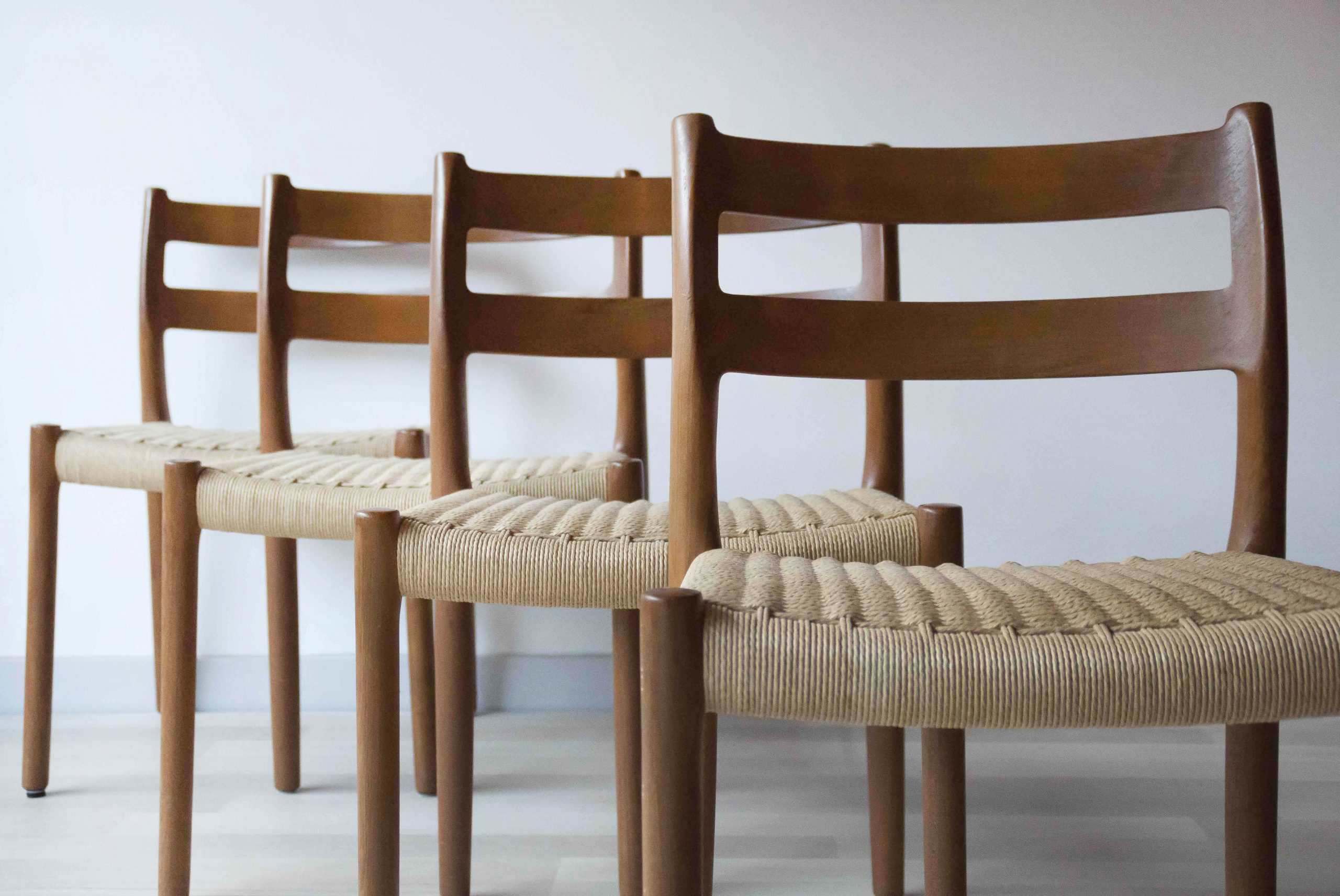 RETRO | MODEL 84 DINING CHAIR BY NIELS OTTO MØLLER, SET ...