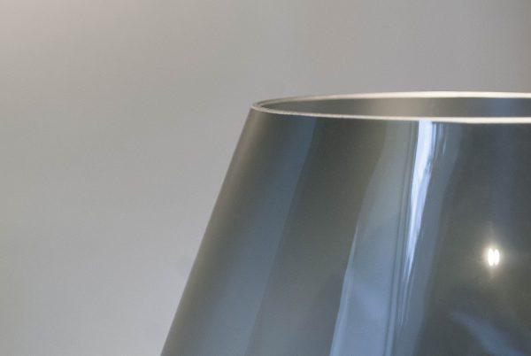SMOKED-PEAR-VASE