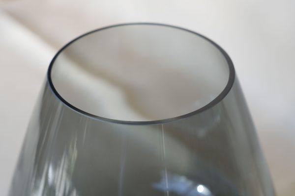 Kleine-pear-vase-smokey-grey