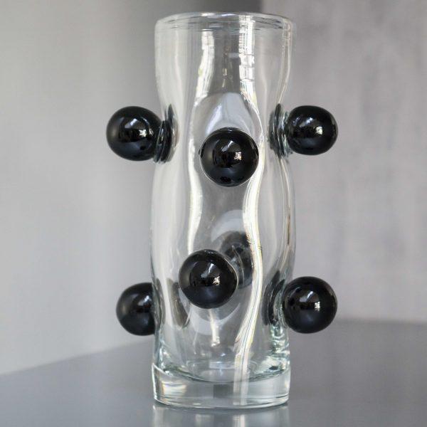 unieke zwarte bollen vaas