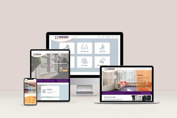 Website-development-fysio-koesen